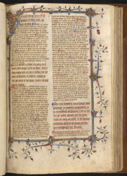 Commentaries on Matthew and Mark, in English f.105r