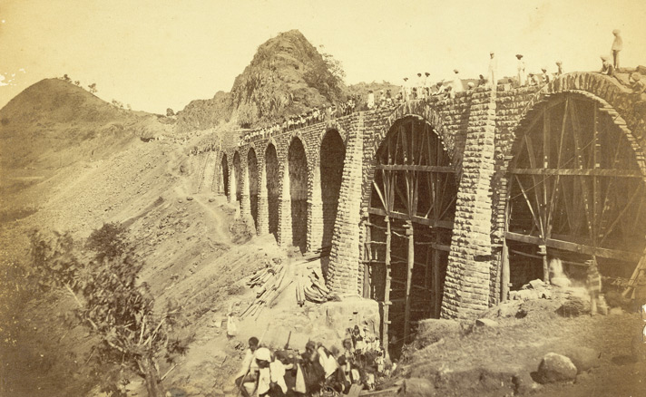 Railway Bridge on Bhore Ghaut.