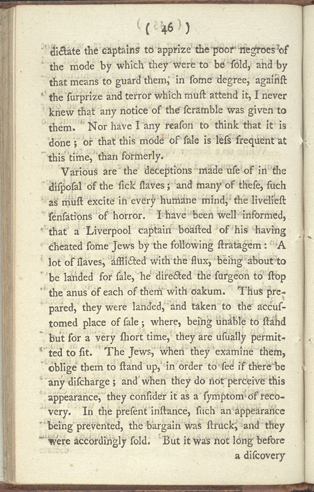 An Account Of The Slave Trade -Page 46