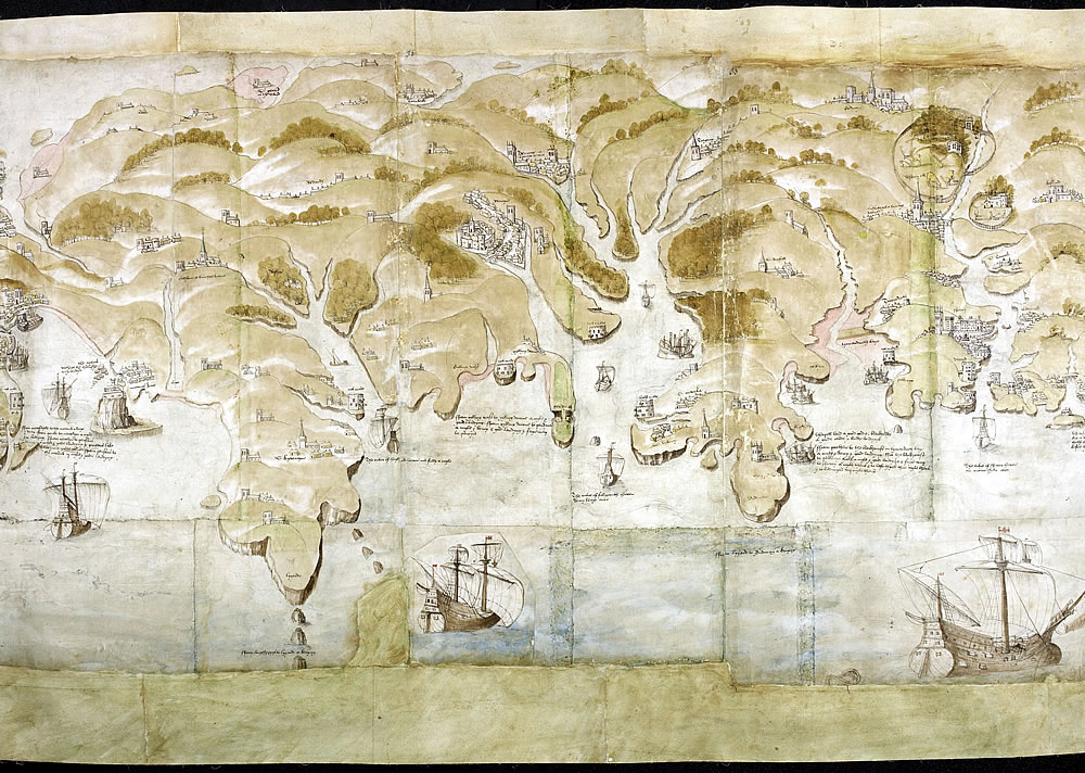 Henry VIII's coastal defence maps