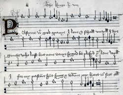 'Pastime with good company': composition by Henry VIII