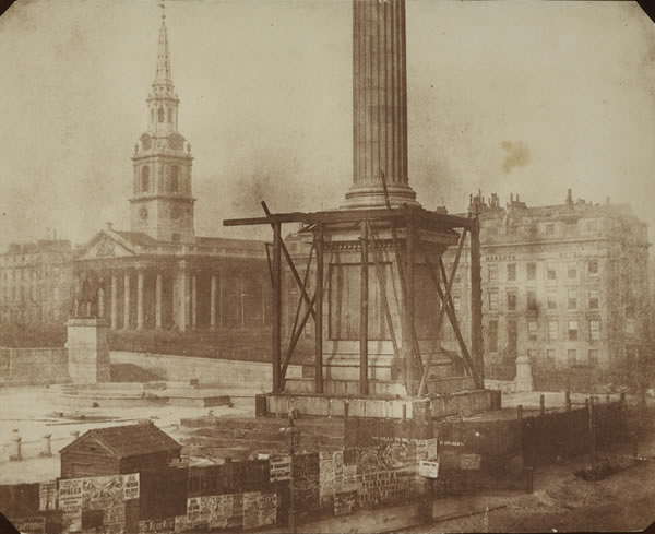 Nelson's Column under construction