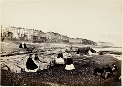 Hastings from the beach